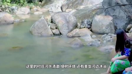 在这个国家内的姑娘都喜欢在河边洗澡, 让前往观光的游客很尴尬!