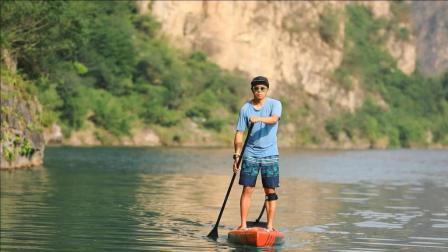 桨板大咖雷子助力ISPOShanghai2018运动用品展