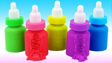 牛奶变成了彩虹奶瓶? 早教色彩认知教程, 助你培养宝宝创意思维!