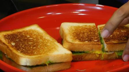 印度的土豆泥三明治, 一点肉都没有, 印度的健康吃法