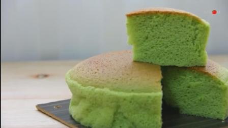 超柔软的新加坡绿蛋糕, 斑斓蛋糕的做法