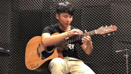 卡马杯第一届全国原声吉他大赛指弹组 Memories V. II 陈浩源.mp4