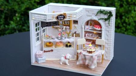 DIY迷你娃娃屋, 是一款甜食爱好者的蛋糕店