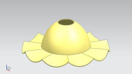 UG10.0灯泡灯罩三维设计实例