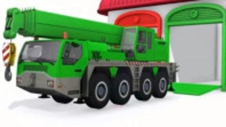 儿童汽车玩具学习颜色 消防车 冰淇淋车 卡车 运输车