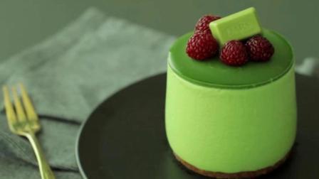 抹茶慕斯新做法: 一款不需要烤箱的蛋糕, 却像布丁一样, 你吃过嘛, 赶紧收藏