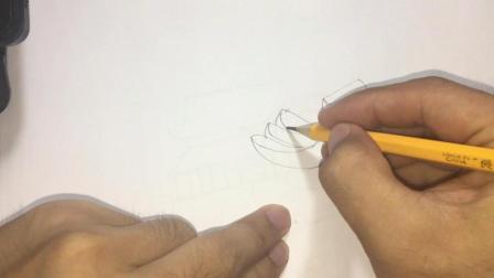 简笔画教孩子画课外作业香蕉 香蕉是水果类难画的水果但也简单