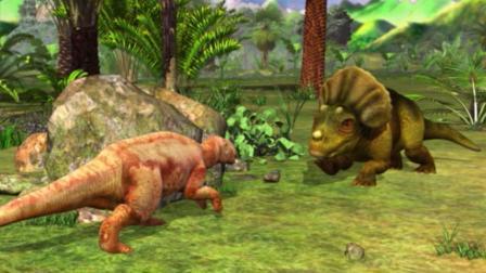虹猫蓝兔恐龙世界 第26集 化敌为友