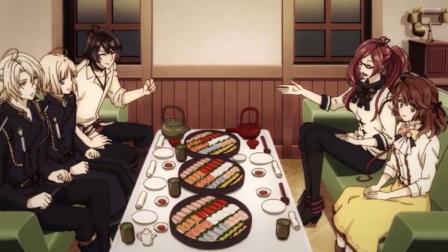 冷然之天秤:这个欢迎新人的方式有点特别,竟然是寿司
