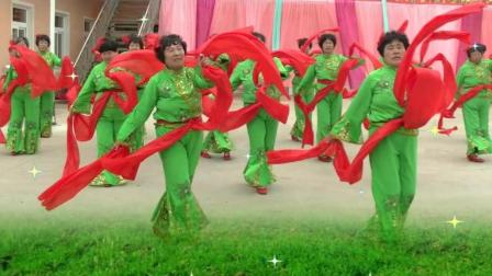 绸子舞现场版-大张舞蹈队