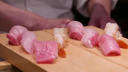 【日本街头美食】39 筑地市场寿司生鱼片