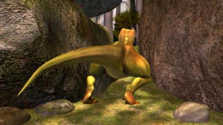虹猫蓝兔恐龙世界 第28集 机智抢食