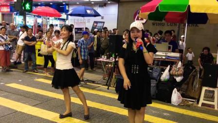 新疆舞蹈出现在旺角街头, 美丽的舞姿打动了香港市民