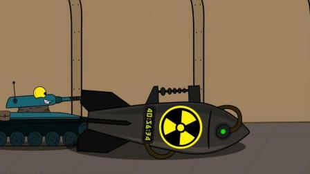 坦克世界欢乐动画: 这都能发射且命中了! ELC这算不算开挂?