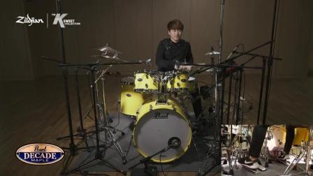 《精彩演奏》韩国鼓手YONGHOON LIM录音室精彩演奏