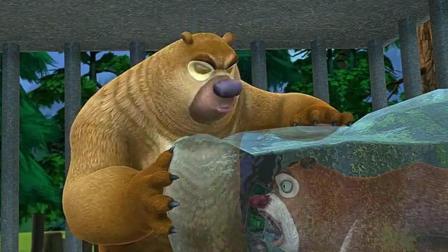 熊出没: 熊大被冻成冰雕, 全靠熊二的舌头舔化它