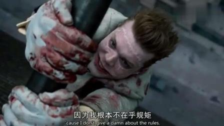 「哥谭」小丑杰罗姆坠楼的画面, 死也要死的像个小丑, 满满的演技