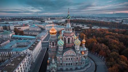 俄罗斯圣彼得堡-无与伦比的美丽-圣彼得堡全景