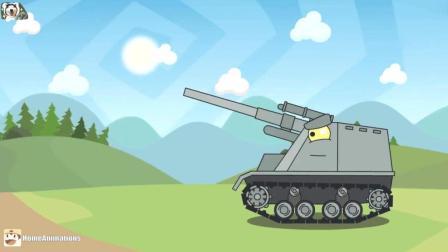坦克世界欢乐动画谁还不是个宝宝啦我就想吃个蛋糕啊!