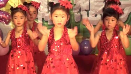"""舞蹈《嘚啵嘚啵嘚》 中班 靖西童悦幼儿园2018年""""六·一""""文艺汇演"""