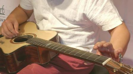 科宾吉他专业演示视频 MDG750CE