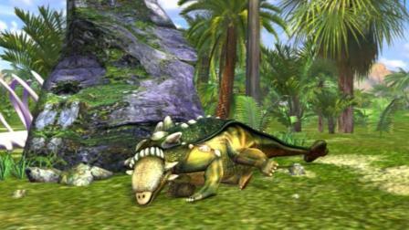虹猫蓝兔恐龙世界 第32集 甲龙之