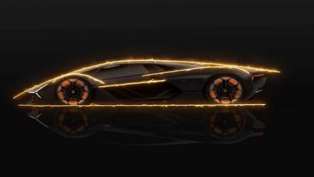 兰博基尼概念车, 车身全是电池, 还可自动修复!