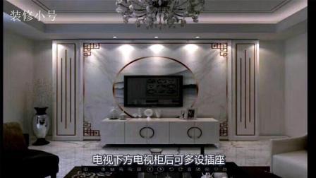 家居装修: 电视墙是否美观, 需要做到以下七个步骤