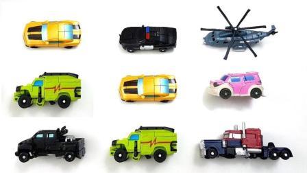 观摩大卡车和飞机如何变成机器人