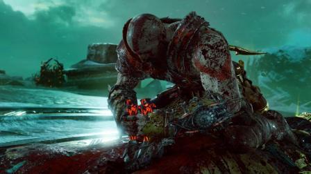 纯黑《战神4》最高难度无伤攻略解说 第八期