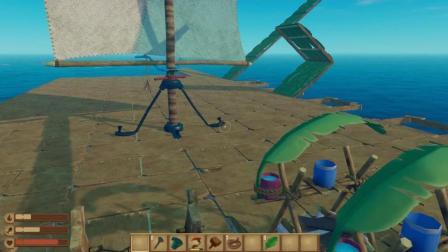 木筏求生-海上生存 第21期 小岛下面有神秘的东西