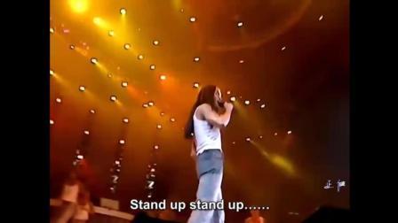 张国荣《Monica》演唱会现场版, 2000年热情演唱会经典没有之一!