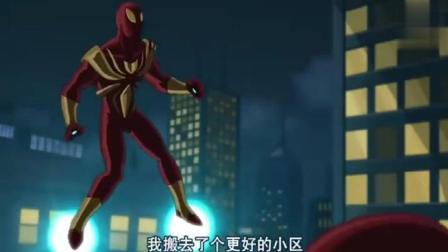 钢铁蜘蛛侠VS钢铁侠, 都是穿装甲的, 谁更厉害呢?