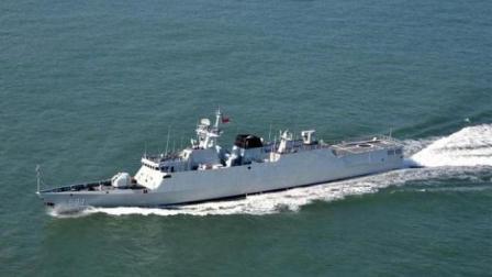 中国056护卫舰装备数量近40艘 可瞬间击沉敌方战舰