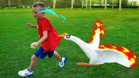 土狗公鸡大白鹅, 绝对是童年阴影啊!