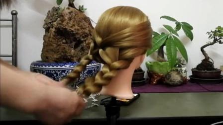 低难度高颜值的气质编发, 40岁的女人参加宴会必选发型!