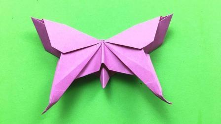 教你如何用纸DIY制作美丽的凤尾蝶, 简单易学小朋友最喜欢!