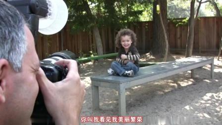 儿童摄影师拍摄工作花絮3