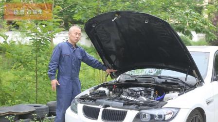 成都大叔为宝马3系移植丰田V8发动机, 移植后动力提升很明显。