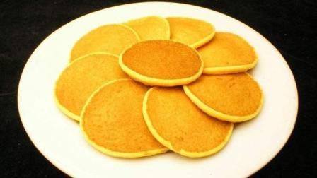 简单快速的奶香玉米饼, 不揉面不和面, 香甜松软, 做法简单!