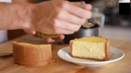 热情果芝士蛋糕制作过程
