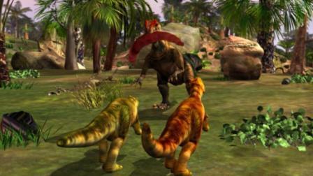 虹猫蓝兔恐龙世界 第39集 猎食特训