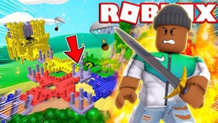 Roblox新空岛战争