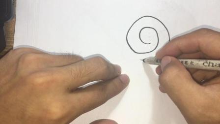 棒棒糖简笔画小孩子最爱的糖 简笔画教程教你画棒棒糖一分钟学会