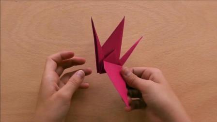 简单折纸, 千纸鹤折纸教程, 你会喜欢么