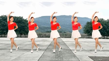 2018最新16步广场舞《自由飞翔》玫香广场舞