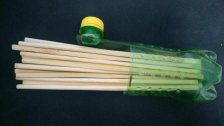 废旧塑料瓶不要扔, 教你如何变废为宝, 自制筷子收纳盒, 超实用!