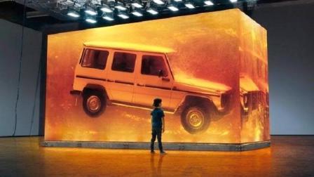 世界上最大的琥珀, 重达49吨, 里面封存着一辆奔驰大G