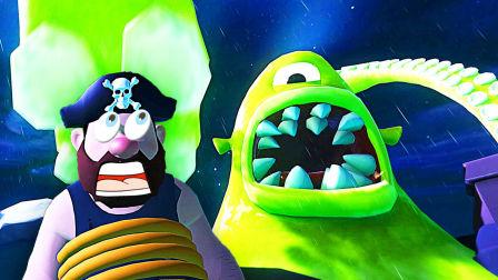 【屌德斯解说】 噩梦伙计01 这是你从未体验过的全新版本!大战巨型章鱼海怪!