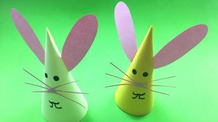 3分钟做个可爱的小兔子生日帽, 孩子们都说简单好看! 都抢着要学